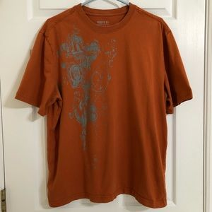 Roots 73 Orange T-Shirt Size Large